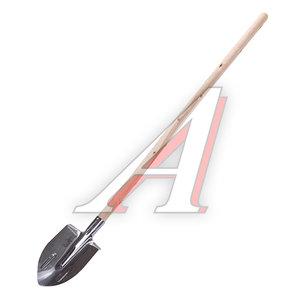 Лопата штыковая нержавеющая сталь с черенком ИСТОК Сборка, 936072