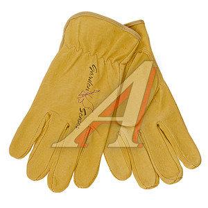 Перчатки кожаные GREEN DRIVE р.7 ELEMENTA GARDEN SENSES PL-441-7