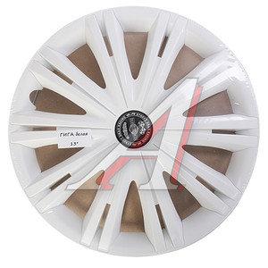 Колпак колеса R-13 декоративный комплект 4шт. ГИГА белый ГИГА бл R-13