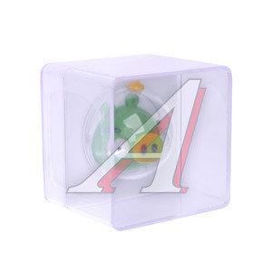 Ароматизатор на дефлектор пластик-пропитка (яблоко) фигура Свинка Minion Pig Angry Birds 3D PRIDE 073032, AB032