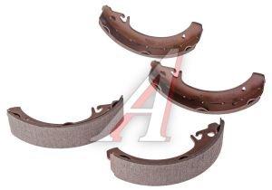 Колодки тормозные ВАЗ-2108 задние (4шт.) ALLIED NIPPON ABS1701, 2108-3502090