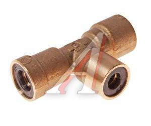 Соединитель трубки ПВХ,полиамид d=6мм-8мм-8мм тройник латунь CAMOZZI PUT06-08-08, 9540 8-8-6, 893 860 144 2