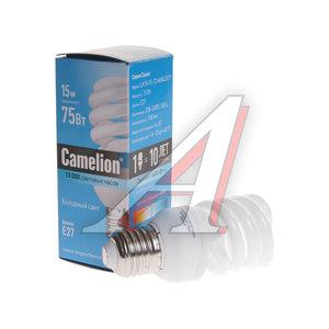 Лампа энергосберегающая E27 15W (75W) холодный CAMELION Camelion LH15-FS-T2-M/842/E27, 10522