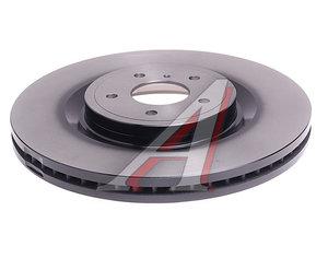 Диск тормозной INFINITI FX51 (08-13) передний (1шт.) TRW DF6498S, 40206-JL00A