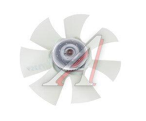Вентилятор УАЗ-3163 (белый пластик) с гидромуфтой в сборе Н/О 3162-1308008, 2363-20-1308008-00