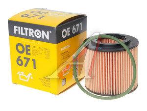 Фильтр масляный SKODA Fabia (00-11) FILTRON OE671, OX360D, 03D115466A