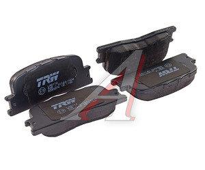 Колодки тормозные TOYOTA Camry (11.01-) задние (4шт.) TRW GDB3374, 04466-48020