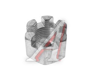 Гайка М16х1.5 прорезная крепления подушки радиатора ЗИЛ РААЗ 250871-П29