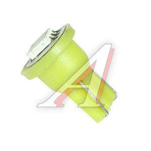 Лампа 12VхW15W (W2.1х9.5d) SUPER BRIGHT 1свет-д YELLOW MEGAPOWER 50416Y, M-50416Y-OLD