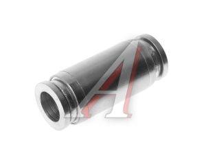 Соединитель трубки ПВХ,полиамид d=8мм прямой металлический MPUC08, АТ-0384,