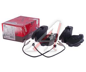 Колодки тормозные CITROEN C5 передние (4шт.) TRW GDB1818, 4254.24/4254.A7/4251.03