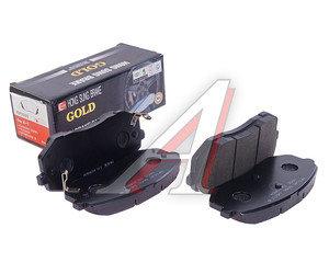 Колодки тормозные KIA Sportage (05-),Carens (06) передние (4шт.) HSB HP1040, GDB3461/58101-1DE00 / 58101-0ZA00 / 58101-2EA30, 58101-1DE00