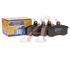 Колодки тормозные ВАЗ-2108 передние (4шт.) HOLA 2108-3501080, BD814