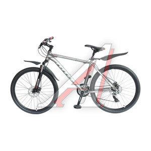"Велосипед 26"" 21-ск. дисковые тормоза (AL-рама) серый SPARK TOTEM T15B210 C, T15B210"