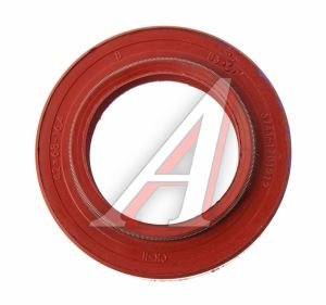 Сальник УАЗ хвостовика,РК и КПП с двумя пружинами 2.2-42х68х16.4 красный 3741-1701210