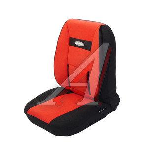 Авточехлы универсальные велюр (поддержка спины) черно-красные (11 предм.) Comfort AUTOPROFI COM-1105 BK/RD (M),
