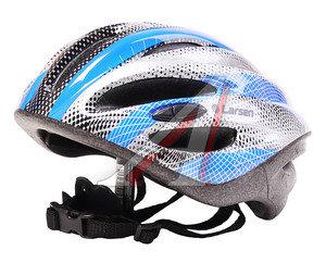 Шлем для катания на велосипеде,скейтборде и роликах (52-54см) LARSEN H2 S, 202507