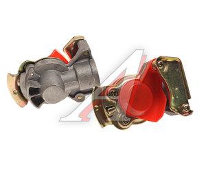 Головка соединительная тормозной системы прицепа 16мм (грузовой автомобиль) красная комплект 952 200 021 0/221 0 (красная) (V), 952 200 021 0/221 0 (красная)