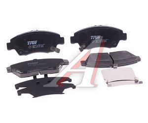 Колодки тормозные HONDA Civic (-01) передние (4шт.) TRW GDB3375, GDB1183/GDB3375, 45022S5AJ00/45022S5AE50/45022S7A000/45022S5BJ00