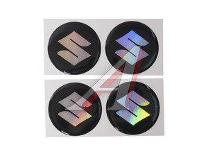 "Эмблема диска колесного ""SUZUKI"" (6см) комплект 4шт. 05851"