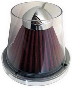 Фильтр воздушный PRO SPORT TWISTER прозрачный серый d=70 RS-01100