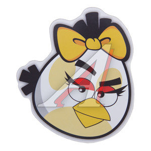 "Наклейка виниловая ""ANGRY BIRDS"" 11х11см 1шт. 11*11,"