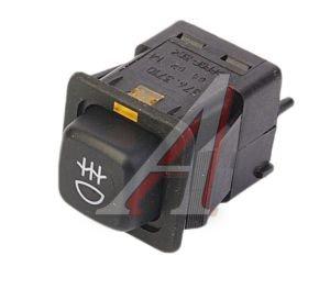 Выключатель кнопка ВАЗ-2108-099 противотуманных фонарей АВАР 376.3710-04.02 12V, 376.3710-04.02М, 376.3710-04.02