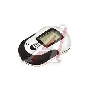 Алкотестер цифровой до 2.00 промилле LCD дисплей, сменные мундштуки, звуковой сигнализатор ALCO STOP AT-210