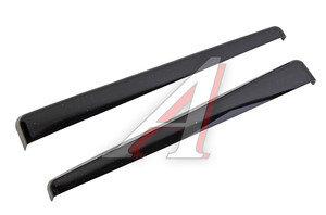 Накладка фары ВАЗ-2104-07 декоративная (ресничка) верхняя некрашеная комплект 2107-8401115 РЯЗАНЬ