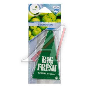 Ароматизатор подвесной пластина (яблоко зеленое) Big Fresh FKVJP PABF-56 \Big Fresh, PABF-56,