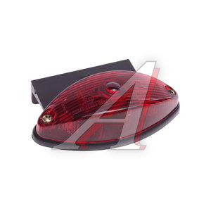 Фонарь габаритный красный с кронштейном ЕВРОСВЕТ ГФ2.К-05