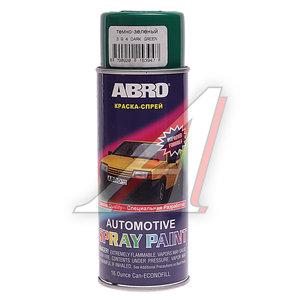 Краска темно-зеленая аэрозоль 473мл ABRO 394 ABRO, Л0394