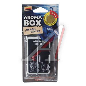 Ароматизатор подвесной гелевый (лед черный) Aroma Box FOUETTE B-17
