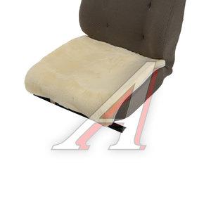 Накидка на сиденье мех искусственный бежевая 1шт. без спинки Mutton PSV 119041, 119041 PSV