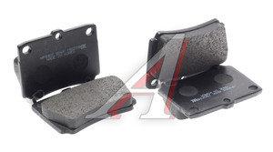 Колодки тормозные MITSUBISHI Pajero Sport,Montero Sport (98-09) (2.5 D/3.0) задние (4шт.) HSB HP8305, GDB3239, MN102626