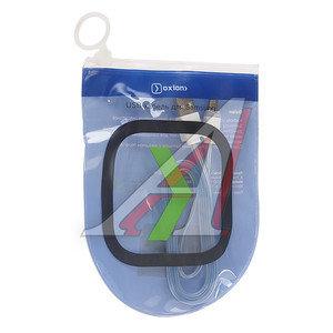 Кабель micro USB 1м голубой OXION OX-DCC023BL