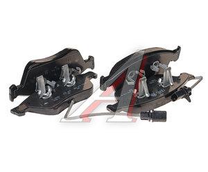 Колодки тормозные AUDI A6,S6,A8,S8 передние (4шт.) OE 4E0698151J