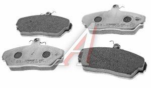 Колодки тормозные ГАЗ-3110,3302 передние (4шт.) ТИИР-(221) в упаковке ГАЗ Оригинал (ОАО ГАЗ) 3302-3501800-02, 3302-3501170