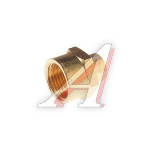"""Переходник для компрессора F1/2""""х1/4"""" соединитель внутренняя резьба в блистере ROCK FORCE RF-FF08/04"""