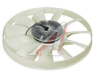 Вентилятор КАМАЗ-ЕВРО 750мм с вязкостной муфтой и обечайкой в сборе (дв.740.82-440) BORG WARNER 020004222