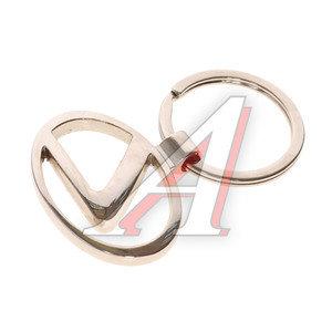 Брелок с логотипом АВТО металл Рельефный