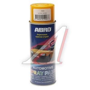 Краска охра аэрозоль 473мл ABRO 208 ABRO, Л0208