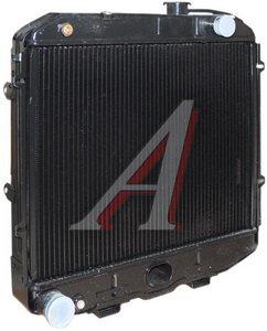 Радиатор УАЗ-390994,374195,374108 медный, дв.УМЗ-4213,ЗМЗ-409,ЗМЗ-5143 ШААЗ 31608-1301010-02, 31608-1301010