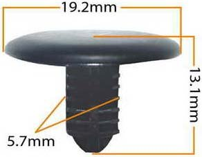Пистон обивки универсальный KJ-305 MASUMA KJ-305