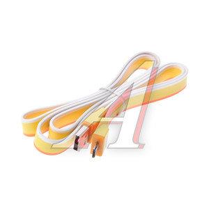 Кабель micro USB 1м желтый SICRON SICRON CU-100CM, с0021