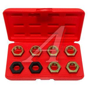 Набор инструментов для восстановления внешней резьбы в кейсе 8 предметов FORCE F-67001,