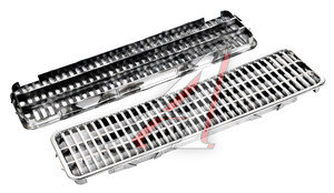 Дефлектор капота ВАЗ-2106 хромированный комплект 2103-8402076, 2103-8402076-01