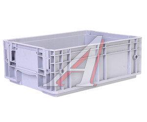Ящик полимерный многооборотный 396х297х147.5мм серый IPLAST IP-378838,