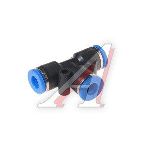 Фитинг для пластиковых трубок Т-образный 6мм ROCK FORCE RF-SPE06