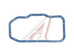 Прокладка ЗМЗ-406 картера масляного с металлическими прессшайбами силикон синий 406-1009070-01, 406.1009070